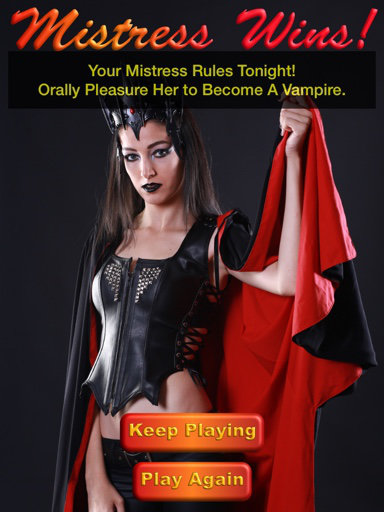 Oral Sex Game With Vampire Theme